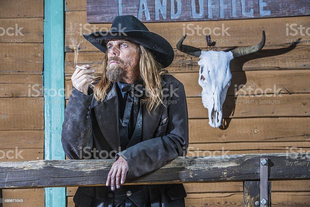 Bandit Portrait stock photo