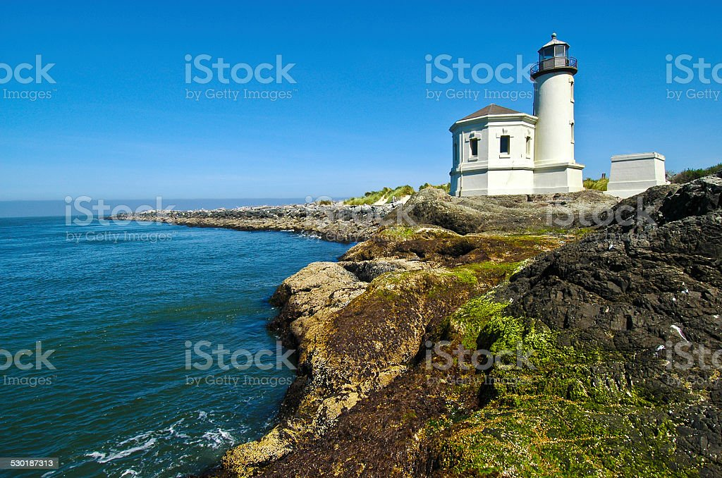 Bandon Lighthouse stock photo