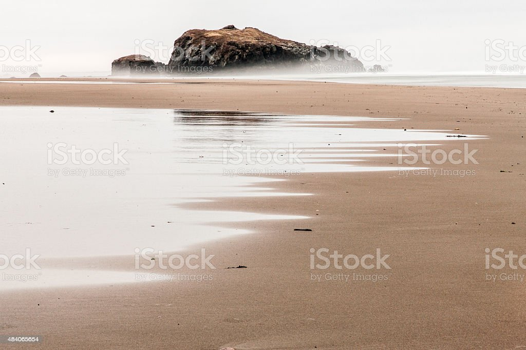 Bandon Low Tide stock photo