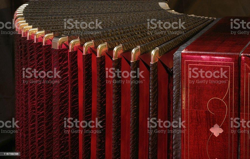 bandoneon, tango musical instrument stock photo