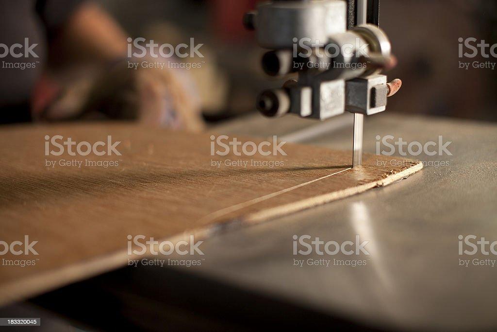 Bandsaw stock photo
