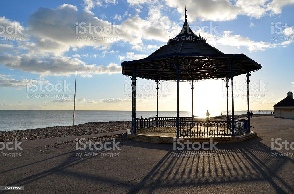 Bandstand at Bognor Regis stock photo