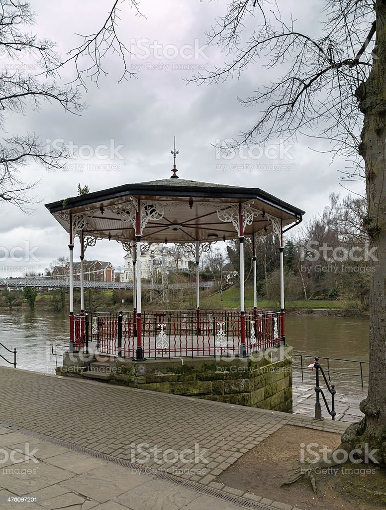 Bandstand, Chester, Cheshire royalty-free stock photo