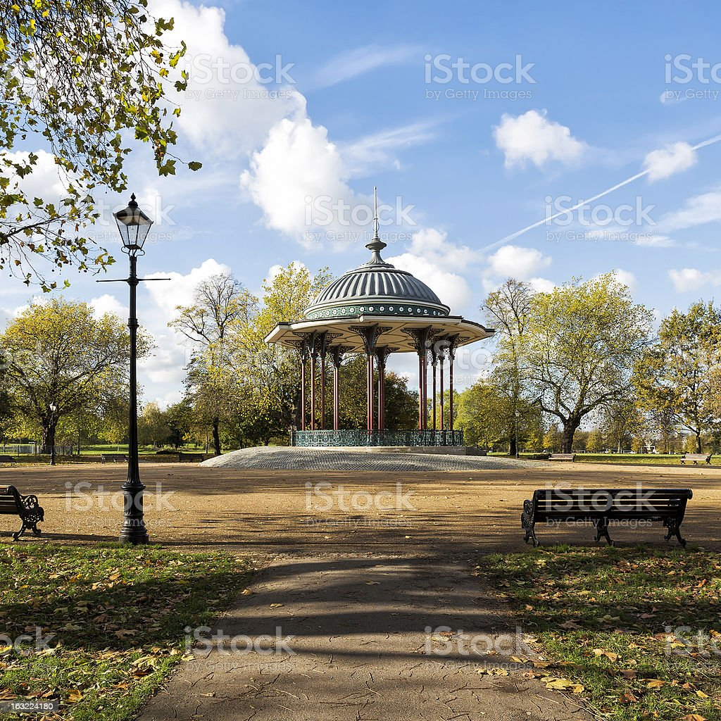 Bandstand stock photo