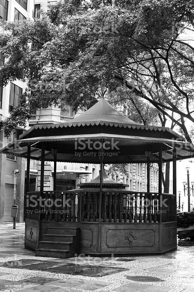 Bandstand royalty-free stock photo