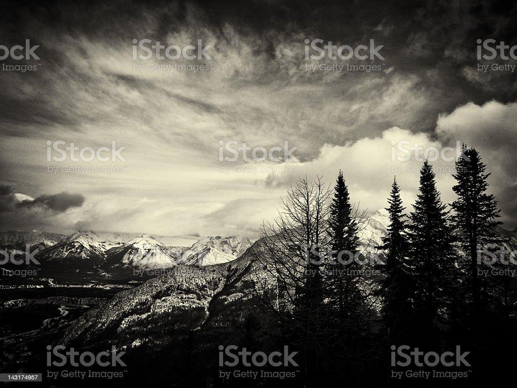 Banff Landscape royalty-free stock photo