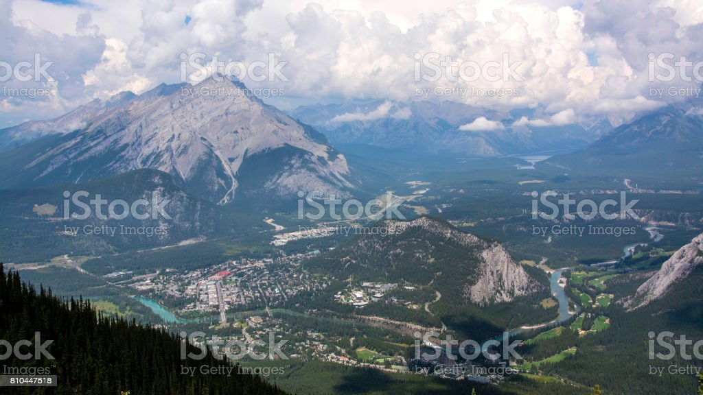 Banff National Park Alberta Canada stock photo
