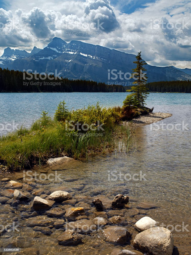 Banff National Park - Canada stock photo