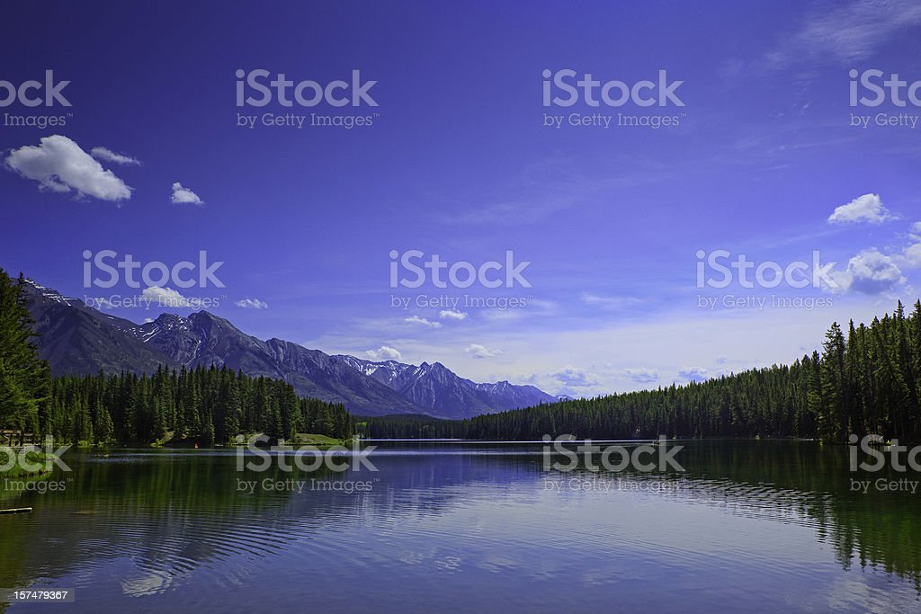 banff national park royalty-free stock photo