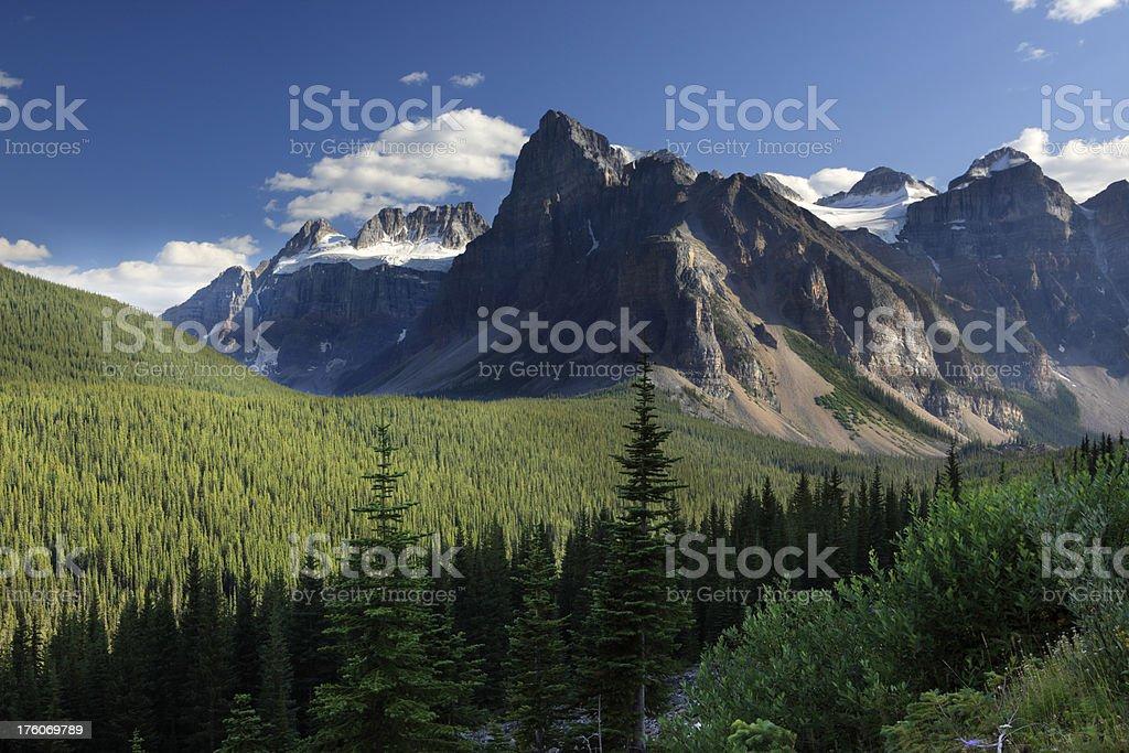 Banff National Park royalty-free stock photo