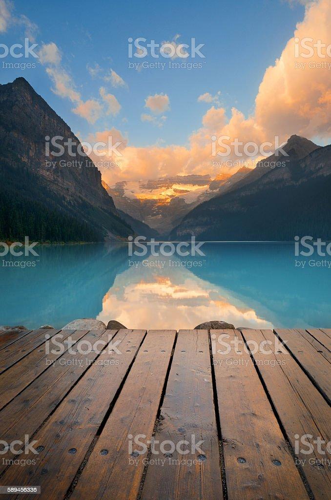 Banff National Park stock photo