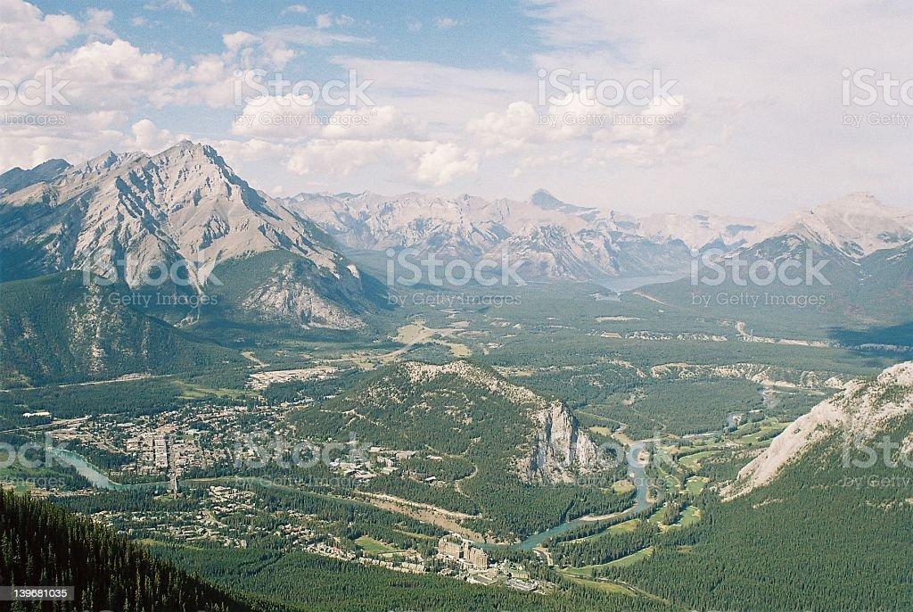 Banff royalty-free stock photo