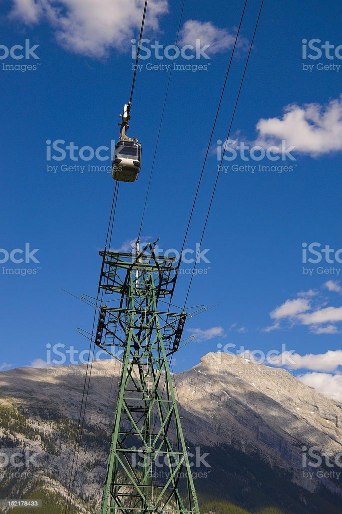 Banff Sulphur Mountain Gondola stock photo