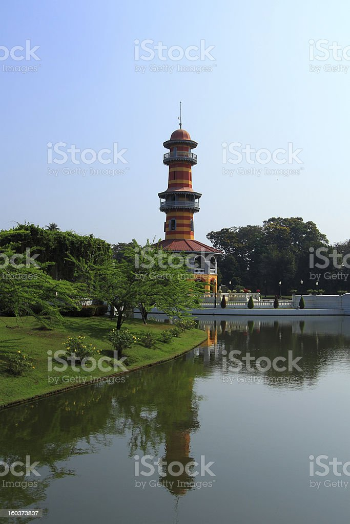 Bang Pa-In Palace royalty-free stock photo