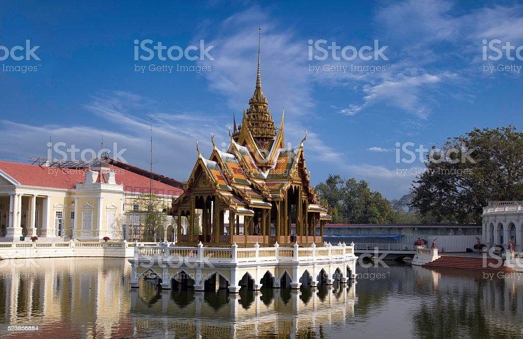 Bang Pa-In Royal Palace or Summer Palace, Thailand. stock photo