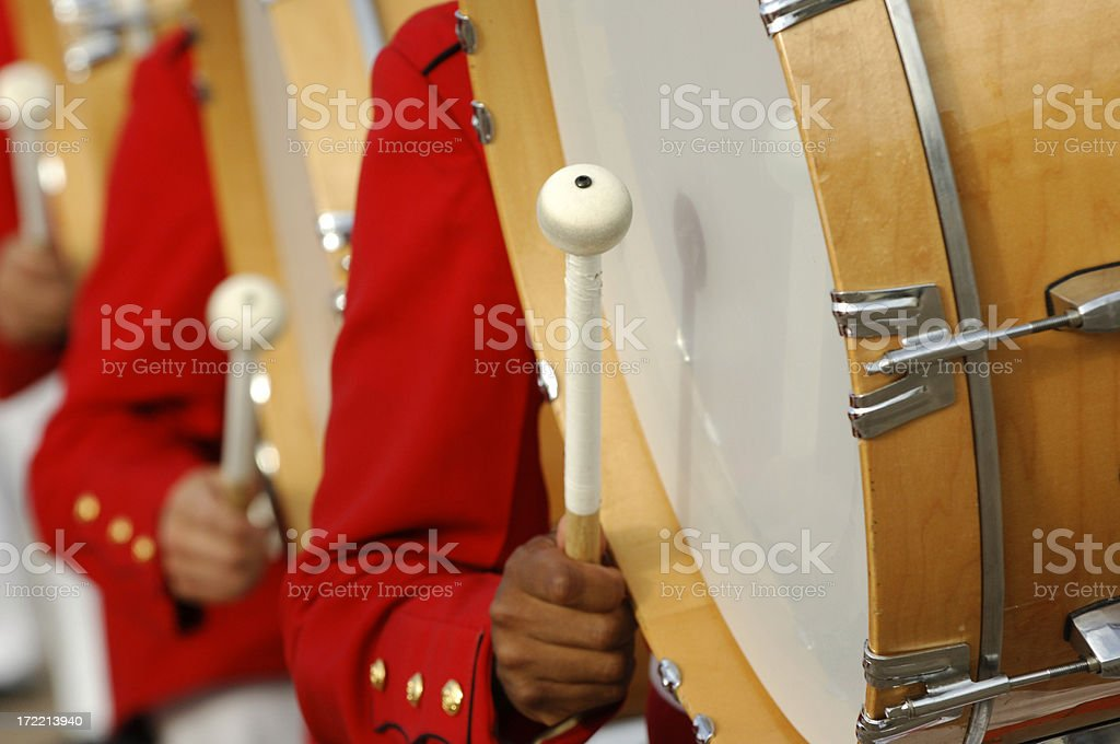 Bang the drum slowly stock photo