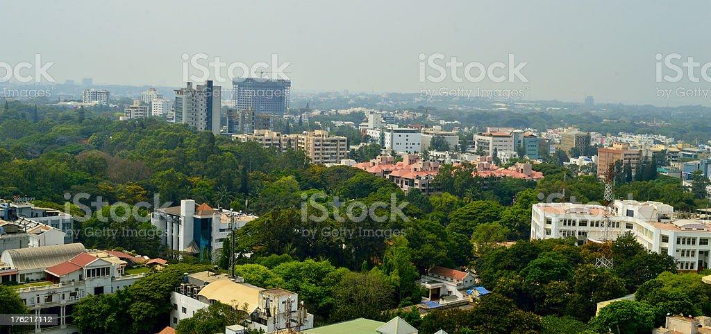 Bangalore Aerial view royalty-free stock photo