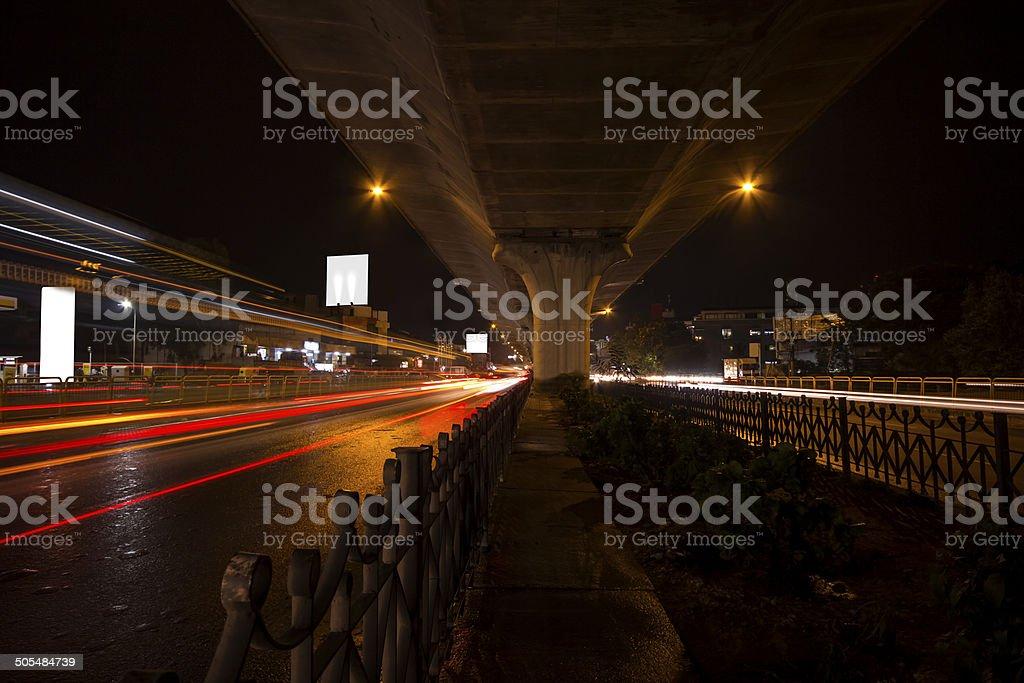 Bangalore city stock photo