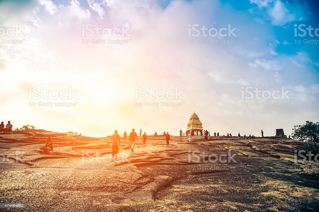 Bangalore city scape stock photo