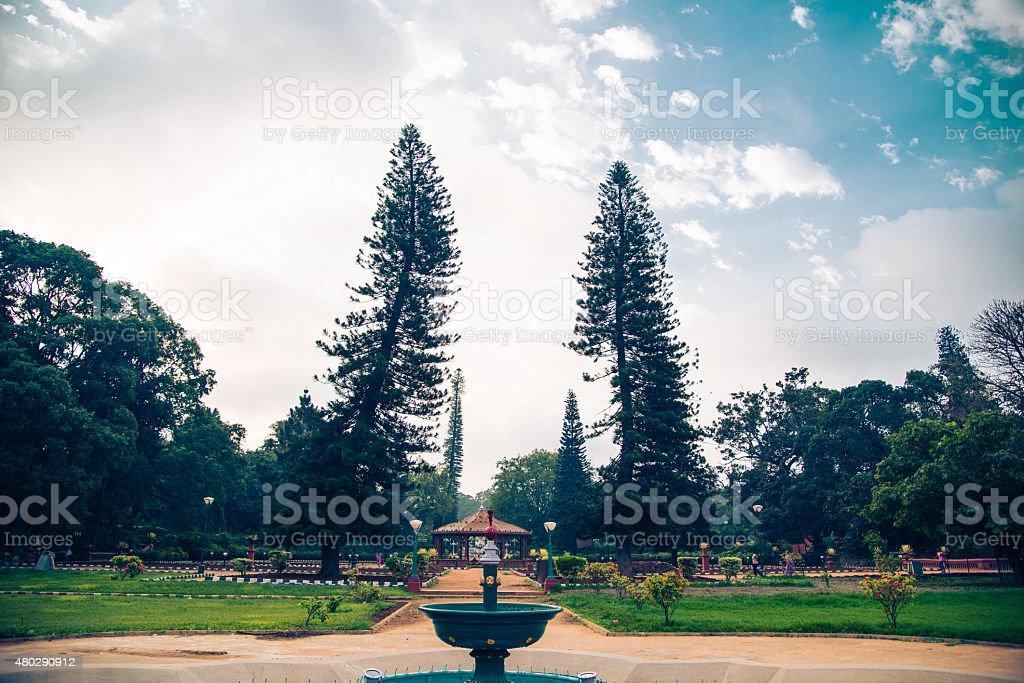 Bangalore city scape stock photo