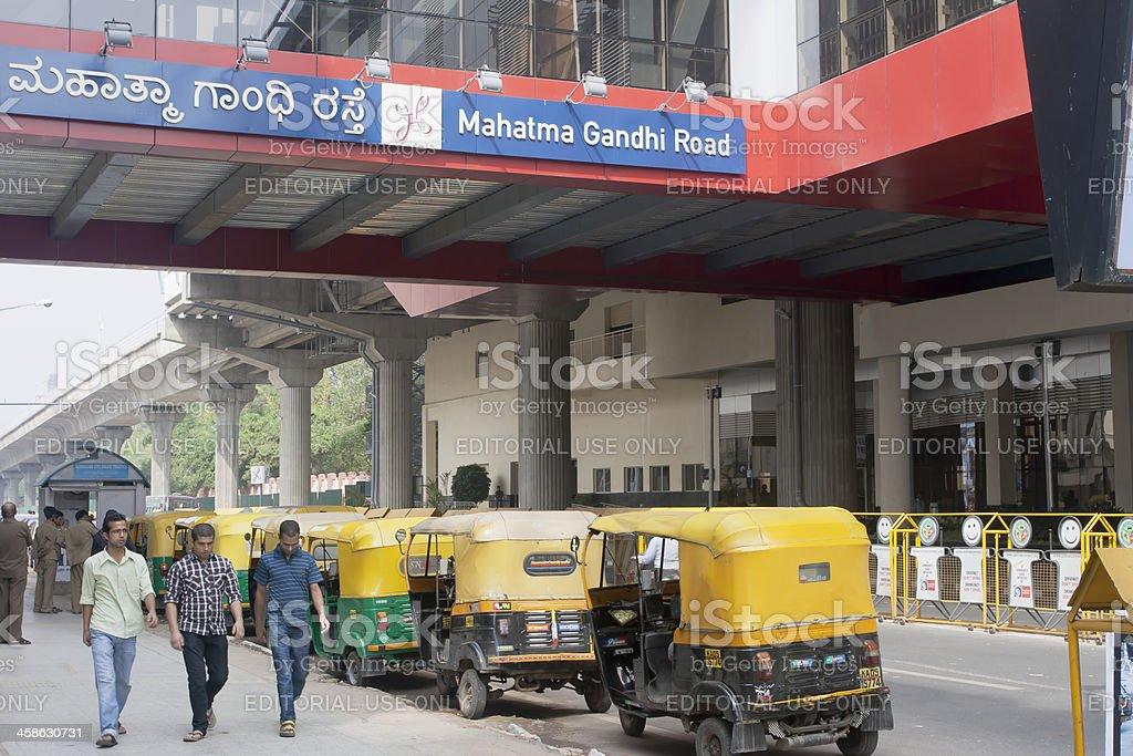 Bangalore Metro station, India royalty-free stock photo