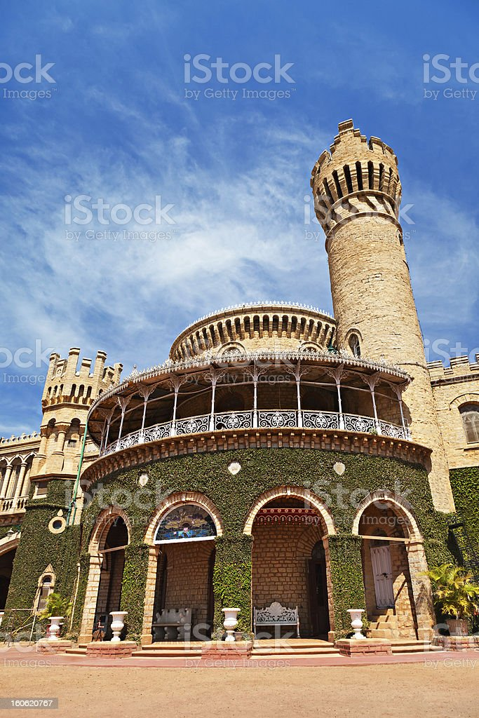 Bangalore Palace, India royalty-free stock photo