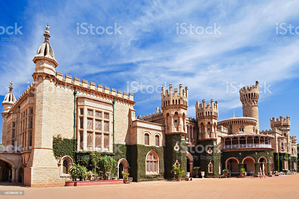 Bangalore Palace, India stock photo