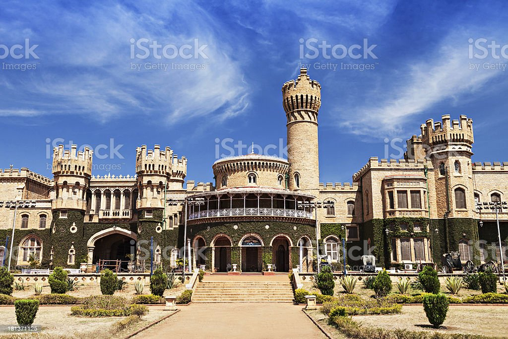Bangalore palace stock photo