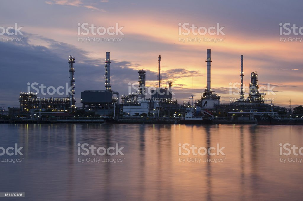 Bangchak refinery royalty-free stock photo