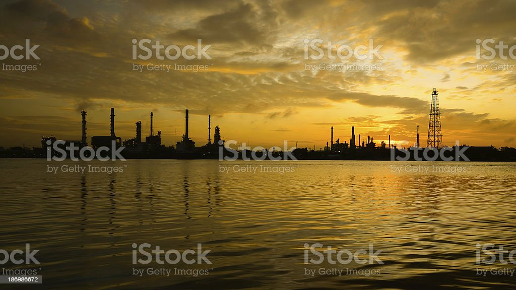 Bangchak refinery royalty-free stock photo