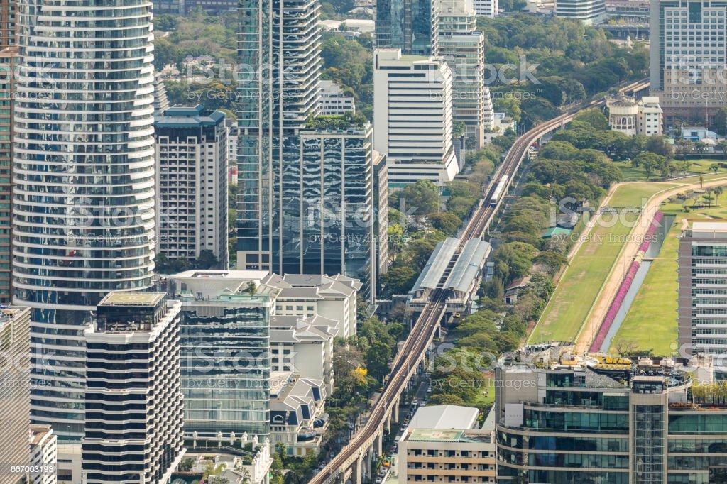 Bangkok Aerial View stock photo