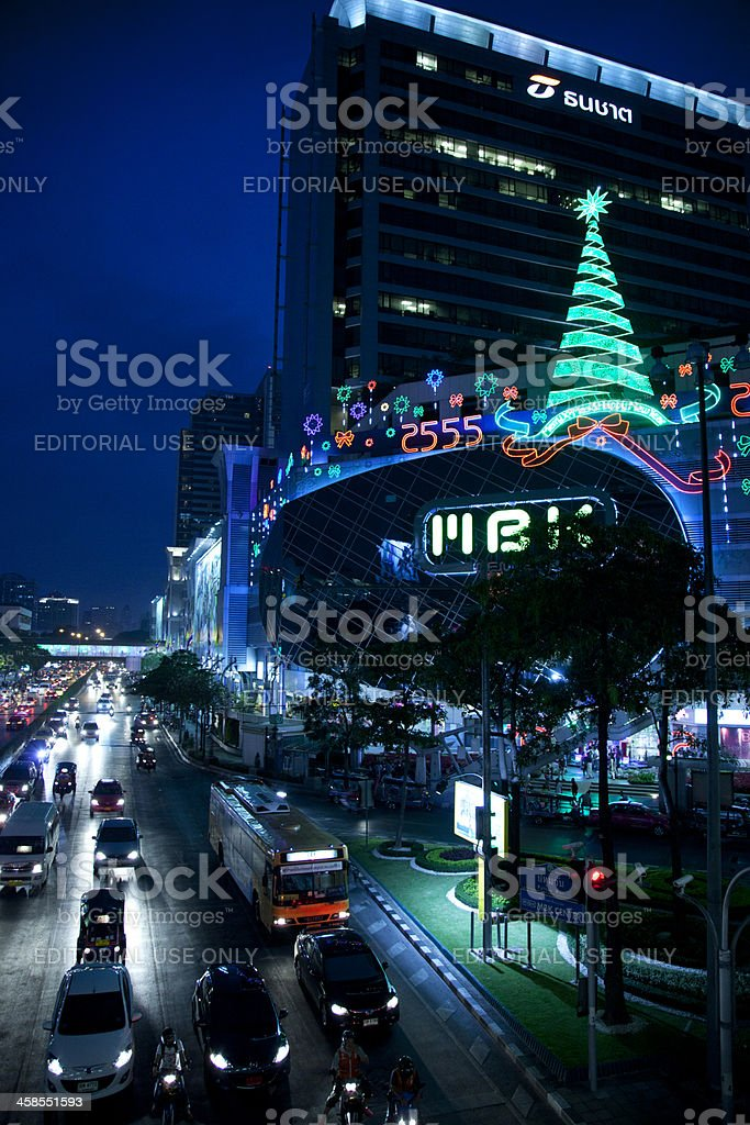 Bangkok by Night royalty-free stock photo