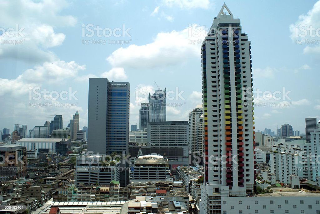 Bangkok City in Thailand, Asia stock photo