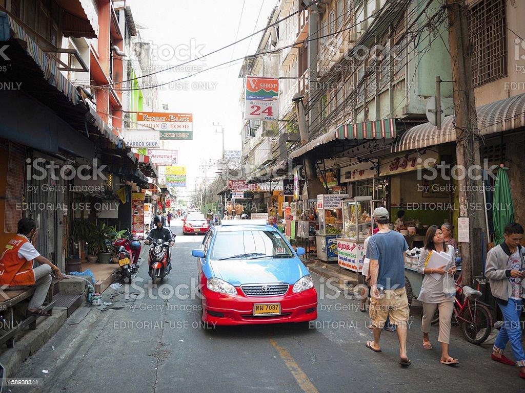Bangkok, City Life, Thailand royalty-free stock photo