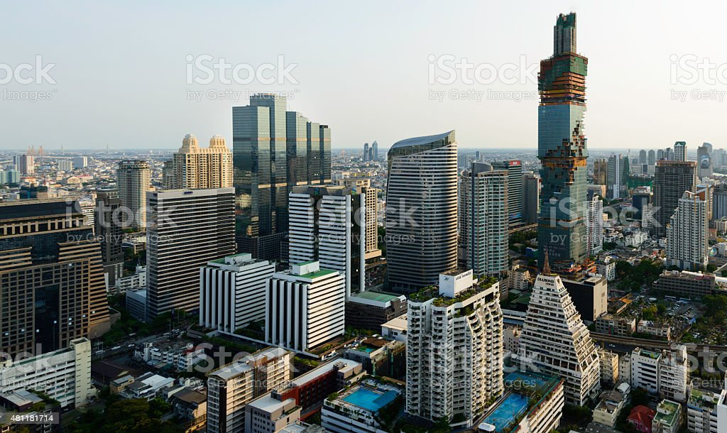 Bangkok city royalty-free stock photo