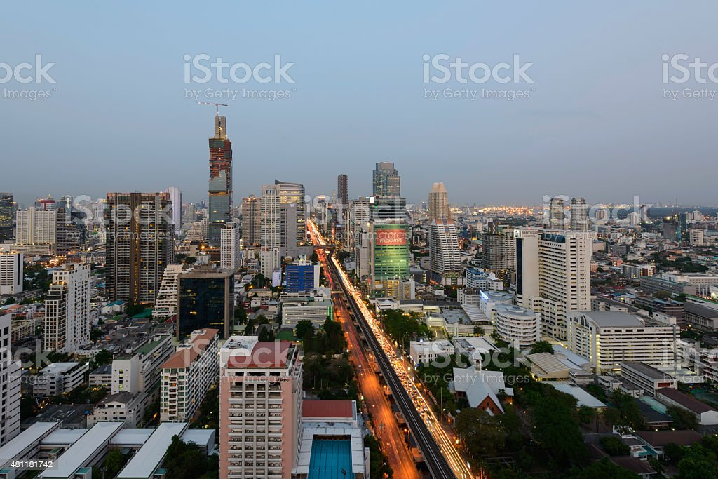 Bangkok city royalty-free stock photo