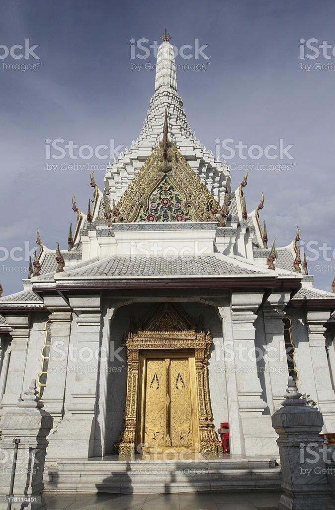 Bangkok City Pillar Shrine royalty-free stock photo