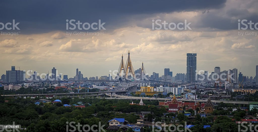 Bangkok city Thailand royalty-free stock photo