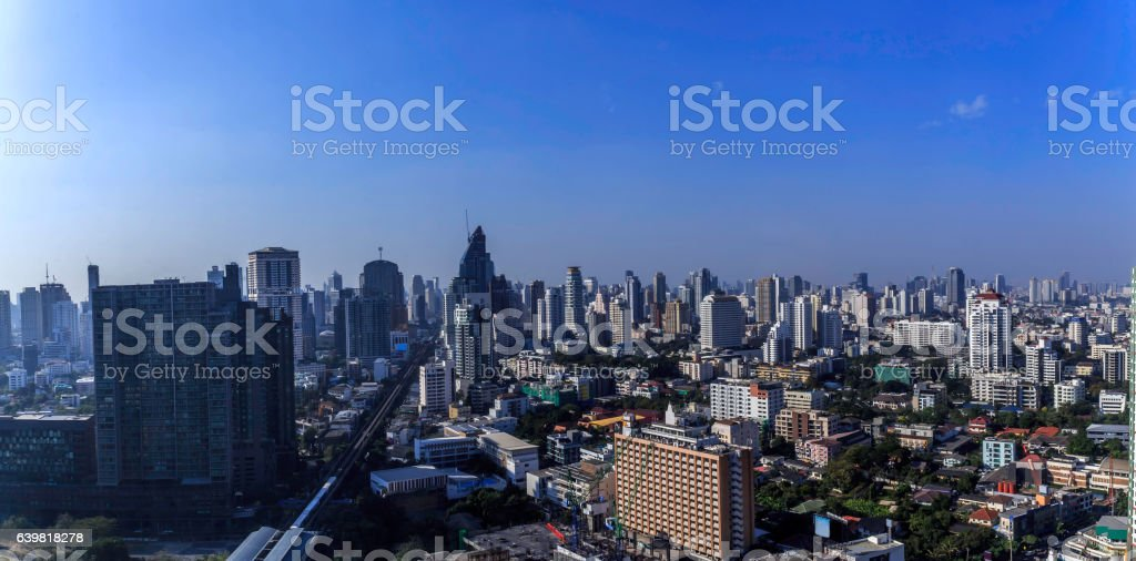 Bangkok City view stock photo