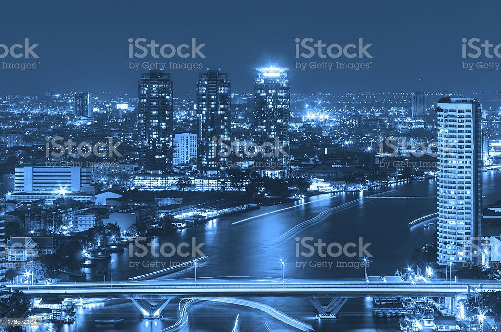 Bangkok cityscape. royalty-free stock photo