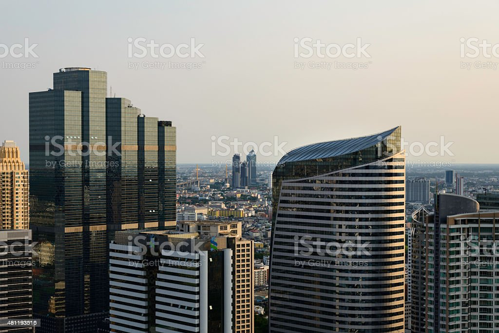 Bangkok Cityscape royalty-free stock photo
