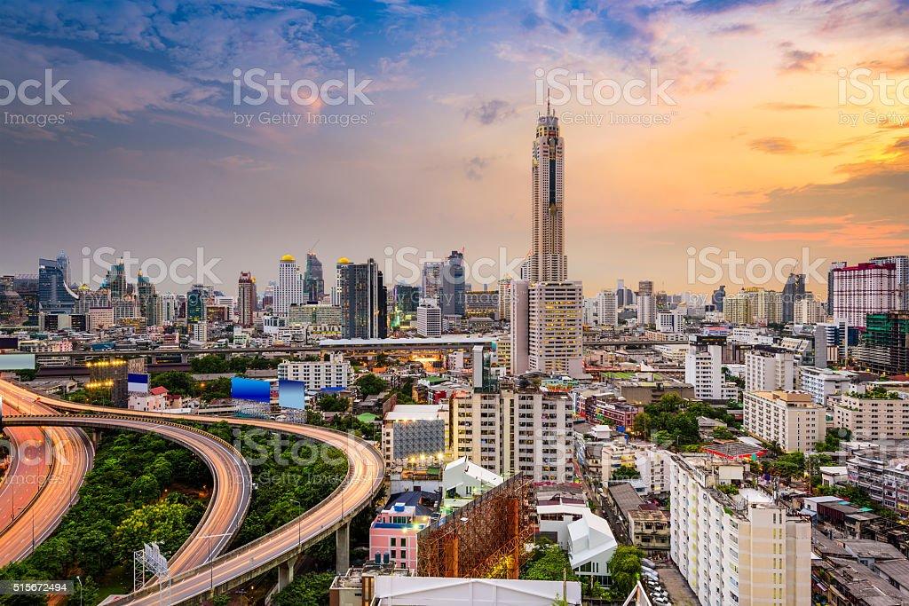 Bangkok Cityscape stock photo