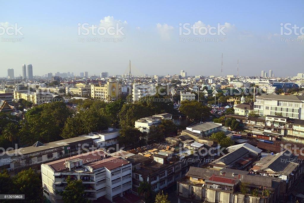 Bangkok cityscape, Thailand stock photo