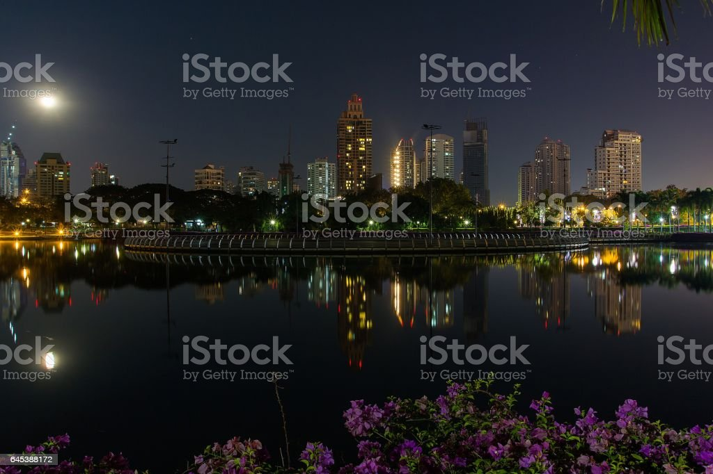 Bangkok Cityscape Thailand stock photo