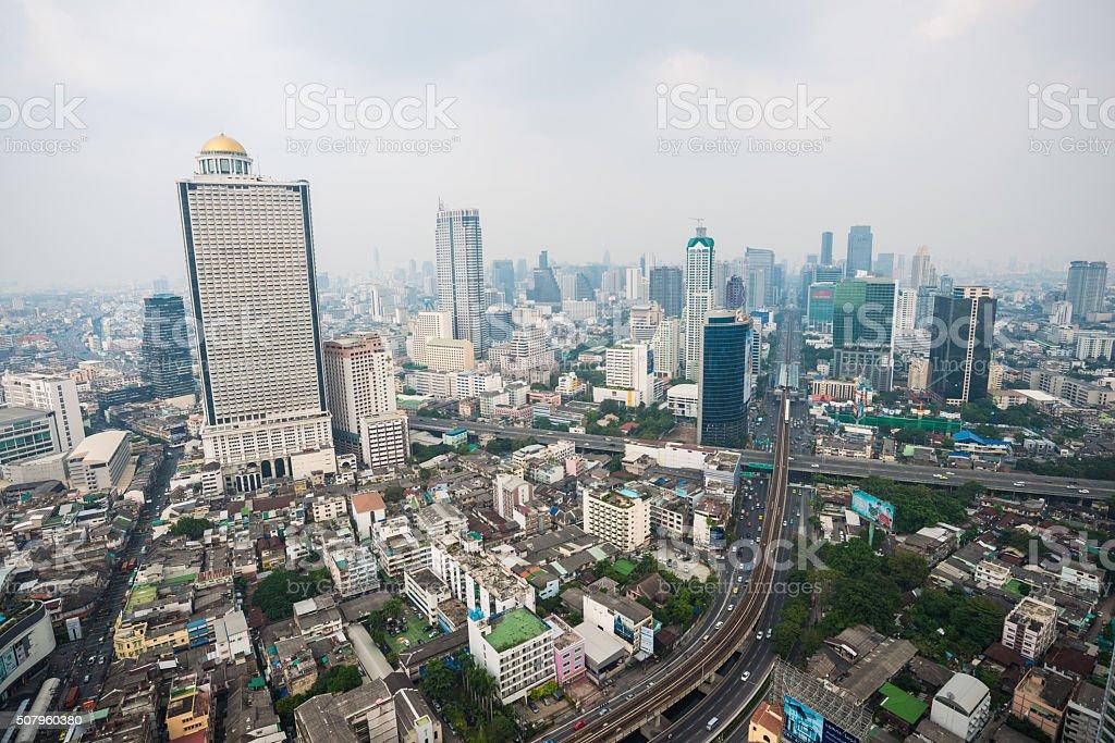 Bangkok day view stock photo