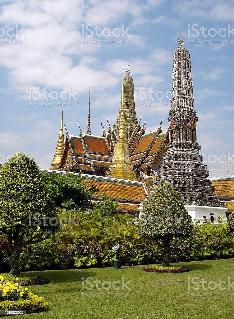 bangkok - grand palace royalty-free stock photo