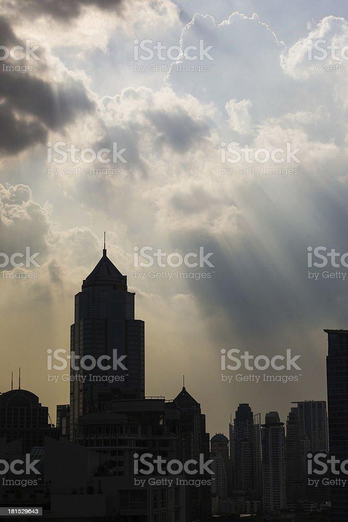 Bangkok hope royalty-free stock photo