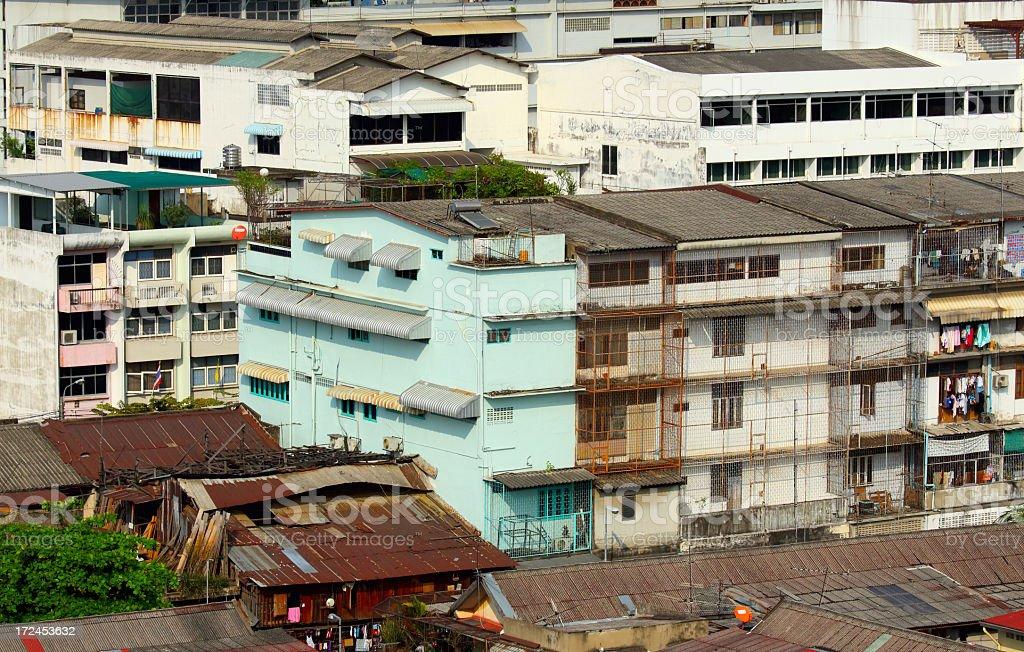 Bangkok residential royalty-free stock photo