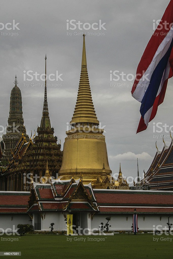 Bangkok , Royal Complex,Wat Phra Kaeo  , royalty-free stock photo