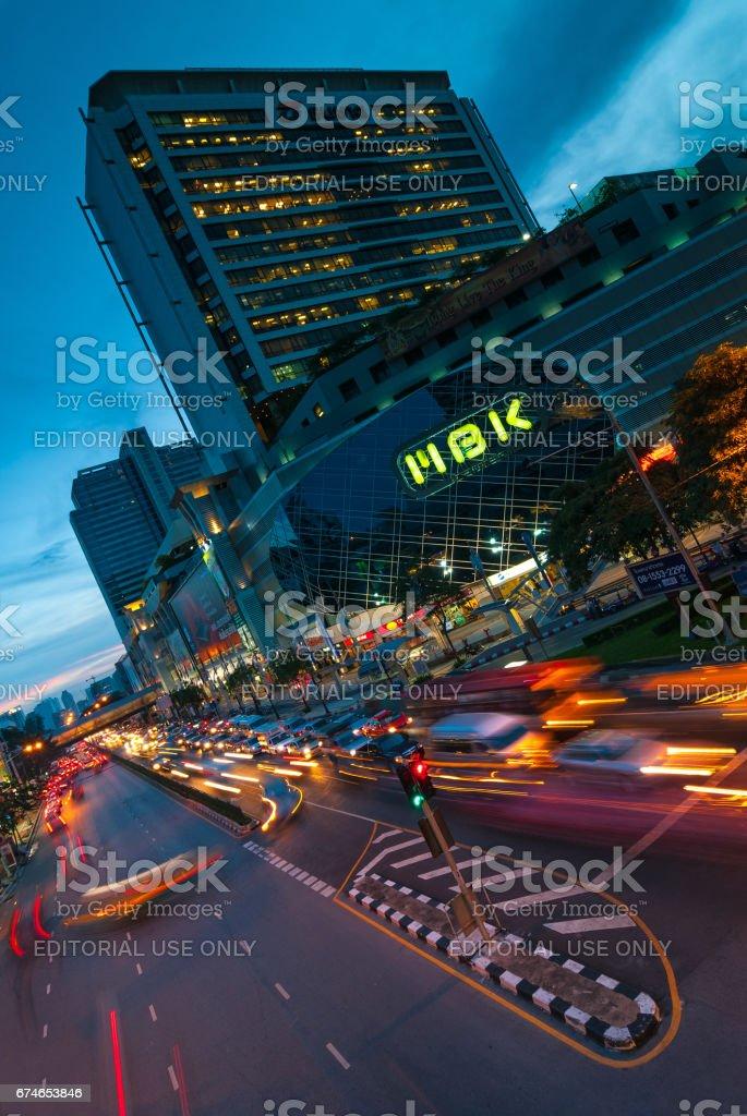 Bangkok Rush Hour stock photo